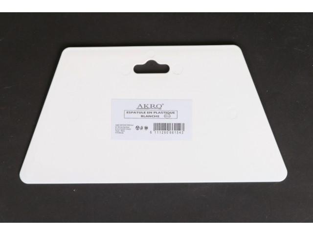 Spatule en plastique blanche  23 cm